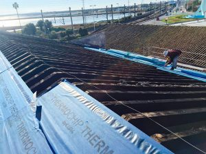 Rehabilitación de techado de bodega
