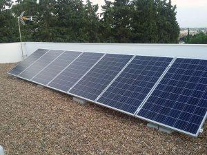 paneles solares domótica agua caliente
