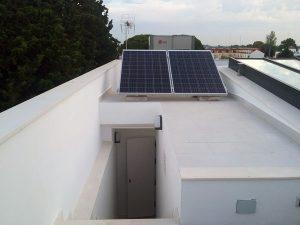 paneles solares domótica agua caliente Guzmán Construcciones S.L.